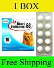 1 Box HEART SOMOMEC 68 PREVENT WORM HEART DISEASE DOGS UP TO 24 LB