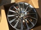 18 Gunmetal Staggered S63 AMG Style Rims Wheels Fits Mercedes Benz S Class W221