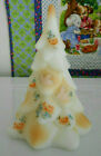 FENTON ART GLASS CHRISTMAS TREE SPECIAL ORDER DESIGN INSPIRED BY LOUISE PIPER