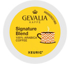 Gevalia Kaffe Signature Blend Coffee 24 to 144 Keurig K cup Pods Pick Any Size