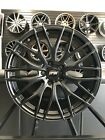 Four 19 Black Mesh Staggered A1 Style Rims Wheels Fits BMW 3 Series 325 328 335