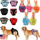 US Female Dog Puppy Pet Diaper Pant Physiological Sanitary Panty Underwear XS XL