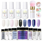 13Pcs/Set BORN PRETTY Nail Art Dipping Powder System Dip Liquid with Brush Kit