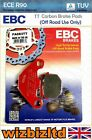 EBC Rear TT Brake Pad Adly NB 125 D Noble 125 2008-2010 FA083TT
