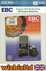 EBC Rear GG Brake Pad Mh/Motorhispania Duna 125 Dual Plus Trail 2008-2014 FA115