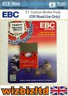 EBC Front TT Brake Pad Scorpa SY 250 FR Long Ride (Small Rear Pad) 2010 FA303TT