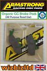 Armstrong Front GG Brake Pad Beta RR 125 4T Motard (A/C) 2008-2014 PAD230184