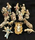 Made in Italy 14 Piece 5 Scale Resin Plastic Nativity Set Christmas Manger Set