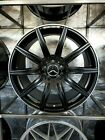 18x85 Black Machined Lip E63 AMG Style Wheels For Mercedes Benz C300 C400