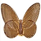 Baccarat GOLD DIAMOND LUCKY BUTTERFLY NEW in BOX