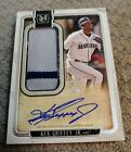 KEN GRIFFEY 2018 TOPPS MUSEUM PATCH AUTO 13 15 SEATTLE SSP