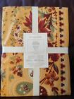 NEW Williams Sonoma Tablecloth 70 x 90 Berry Meadow Gold French Country