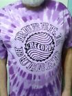 Rubber Dubber Record Label bootleg record Label  tie dye T shirt