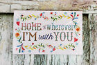 Special Moments Memories Collection Home Is Wherever Im With You Plaque 11x7