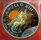APOLLO 13 XIII Willabee  Ward NASA SPACE MISSION CREW PATCH EMBLEM Info Card