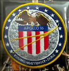 APOLLO 16 XVI Willabee  Ward NASA SPACE MISSION CREW PATCH EMBLEM Info Card