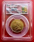 1914 Canada Gold Reserve Bank of Canada Release $ 10 Dollar PCGS MS 64+ Near Gem