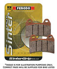 Ferodo SinterGrip Road ST Rear Brake Pads FA208 Maico Supermoto 500 1999-2000
