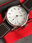 Swiss Unitas (ETA) 6498 Arnex Pocket Watch Conversion 44mm SERVICED Free Ship