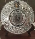 Indiana Glass Salad Plate Set Of 6 Sandwich Pattern Clear Pressed Vintage