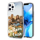 Custom Phone Case For iPhone X XR XS Max Personalized Picture Photo Cover