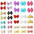 Dog Bows Hair Accessories Clip Pet Grooming Products Puppy Small Bowk Handmade