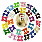 Handmade Pet Bows Rubber Bands Small Female Dog Bulk Pet Crown Shows Supplies