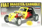 (6) New Lindberg Fiat Dragster/Cabriolet Model Kit 1/12 Scale 12