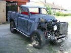 Unfinished Hot Rod Project with 35 litre V8 engine