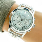 DKNY Womans Watch NY8059 Mother Pearl Date Chronograph Dial Clear Resin Working