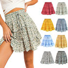 Women Summer Boho Short Mini Skirts Evening Cocktail Party Beach Dress Sundress