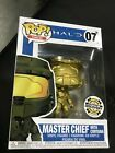 Funko Pop Halo Golden Master Chief w Cortana Halo Outpost Discovery Exclusive
