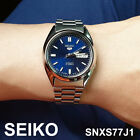 SEIKO 5 SNXS77J1 Automatic Mens Watch Stainless Steel 37mm MADE IN JAPAN