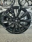 22x90 22x10 Gloss Black Turbine Style Wheels For Tesla X Model 75D 100D