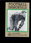 Jim Thorpe Cards and Autograph Guide 54