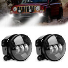 CREE 4 Round LED Fog Lights Driving Lamp Bumper Bulb for JEEP Wrangler JK TJ CJ