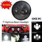 7 H4 H13 Round LED Headlight High Low Beam For 97 17 Jeep Wrangler JK TJ CJ LJ