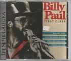 RARE BILLY PAUL CD FIRST CLASS K-WEST 1992 17 TRKS ME & MRS JONES GAME OF LIFE +