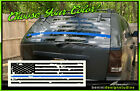 Blue Line Lives Matter AMERICAN FLAG Back Window Decal Fits Jeep Grand Cherokee