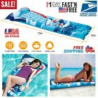 72 Inflatable Pool Water Air Mat Float Swimming Party Comfortable Guest Bed