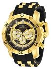 Invicta 30029 Pro Diver Men's 50mm Chronograph Gold-Tone Charcoal Dial Watch