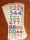 10 Suzys Zoo Scrapbooking Border Stickers Numbers