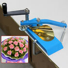 Iron Blue Thin Tooth Crimper Flower Embossing Packaging Machine for Curly Paper