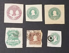 Postal Stationary US Mint Used Cut Squares Vintage Z2d53c1