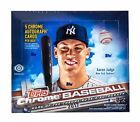 2017 Topps Chrome Baseball Jumbo Hobby 5 Autographs Box