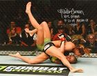 Kailin Curran Signed 11x14 Photo PSA DNA UFC Debut Fight Night 57 Paige VanZant