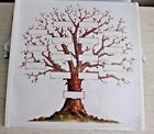 Creative Memories 12x12 Family Tree Genealogy Chart 5 Pages 2004 White
