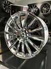 Set of 20x85 Chrome S63 AMG Style Rims Wheels Fits Mercedes Benz CLS500 CLS550