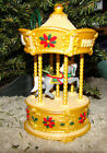 Tobin Fraley (Signed) Holiday Carousel (Hallmark, QLX7461) Lighted, Music (1996)