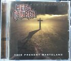 METAL CHURCH - THIS PRESENT WASTELAND NEW CD 2008 Steam hammer ** Like New **